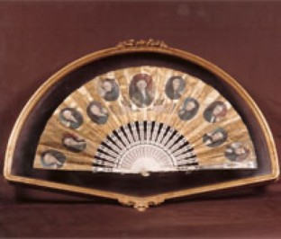 Historical Fan at the James K. Polk Museum