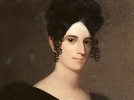 Sarah Childress Polk Portrait